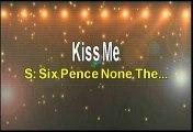 Sixpence None The Richer Kiss Me Karaoke Version