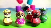 Nickelodeon Paw Patrol Weebles Mashems & Fashems Surprise Weeble Wobble Disney T
