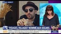 """JR et Agnès Varda nommés aux Oscars pour """"Visages, Villages"""""""