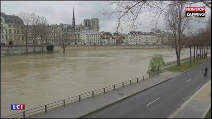 Crue à Paris : la Seine va atteindre le même pic qu'en 2016 (Vidéo)