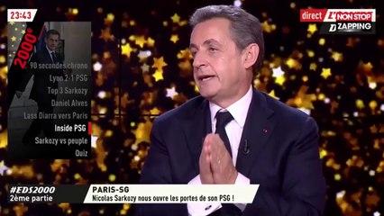 Nicolas Sarkozy invité de L'Équipe du soir fait le buzz sur le web (Vidéo)