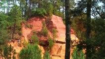 Se promener dans le LUBERON le sentier des ocres de Roussillon,Apt, Lacoste et Cavaillon
