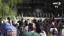 مواجهات بين قوات الأمن ومناصري المعارضة في فنزويلا