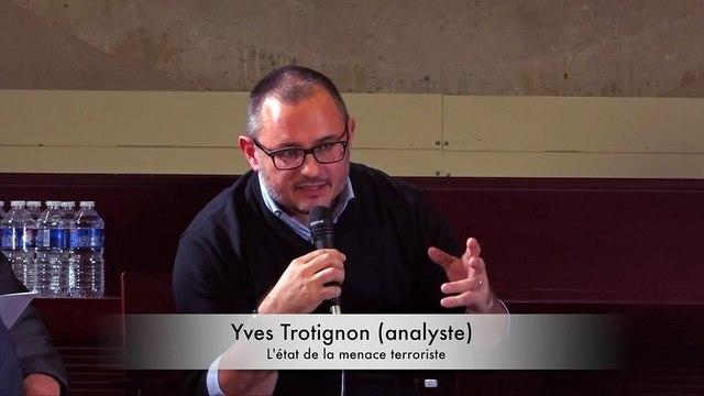 "Colloque Terra Nova ""Terrorisme : une menace en transformation"" par Yves Trotignon"