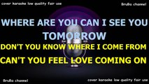 Amanda Lear - Tomorrow. KARAOKE