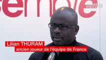 Assises du Vivre Ensemble 2018. Lilian THURAM, ancien joueur de l'équipe de France, président d'une Fondation contre le racisme
