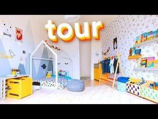 TOUR - QUARTO de CRIANÇA MONTESSORI