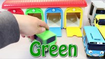 Tayo The Little Bus Excavators English Learn Numbers Colors Toy Surprise Eggs Toys