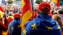 Καταλονία: Χιλιάδες στους δρόμους κατά της ανεξαρτητοποίησης