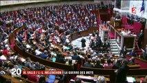 Politique : entre Manuel Valls et Jean-Luc Mélenchon, la guerre des mots est déclarée
