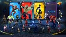 Disney Infinity 3.0 Marvel Battlegrounds Unboxing and Gameplay