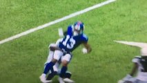 099a7afb WATCH: Odell Beckham Jr Cries Into Towel, Fractures His Ankle in ...