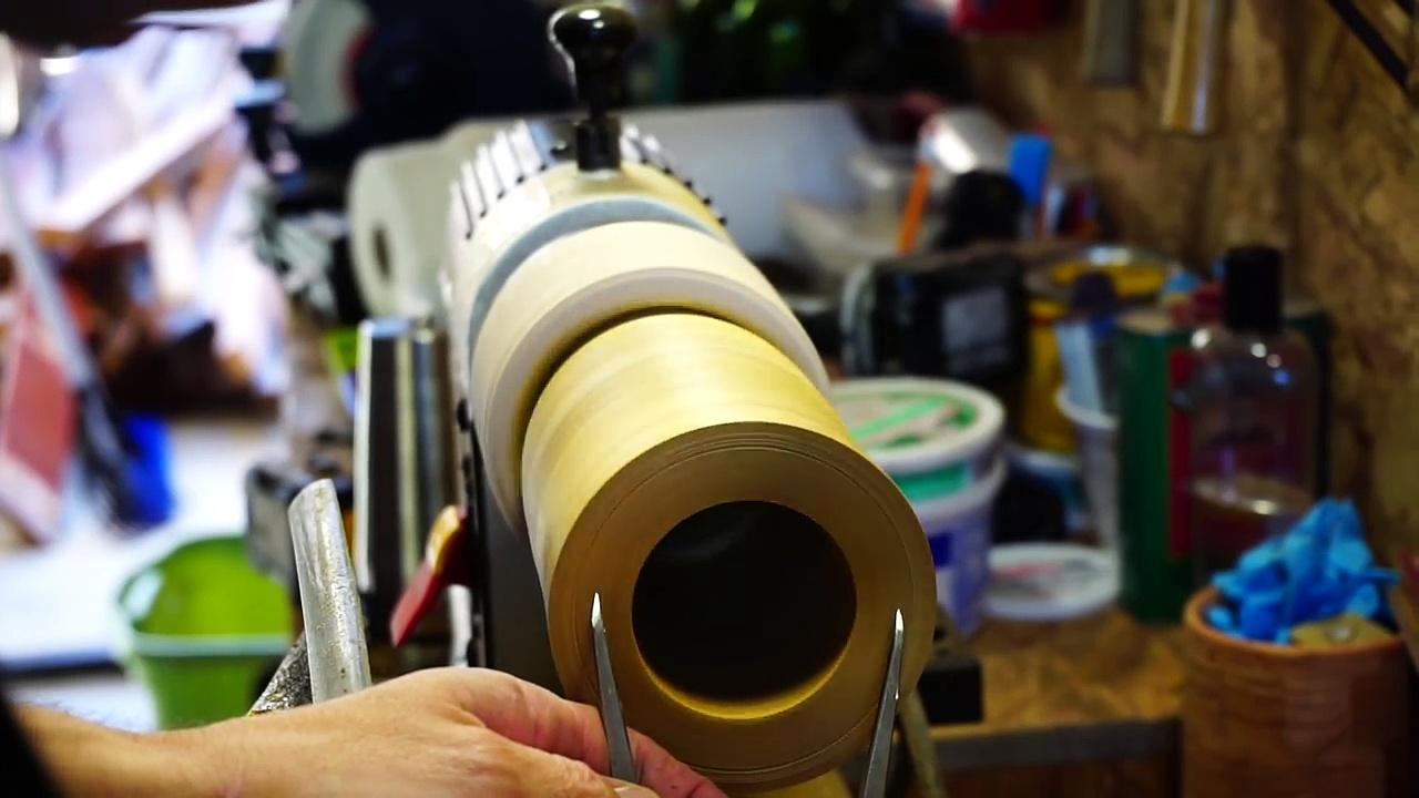 Woodturning Segmented Coffee Mug