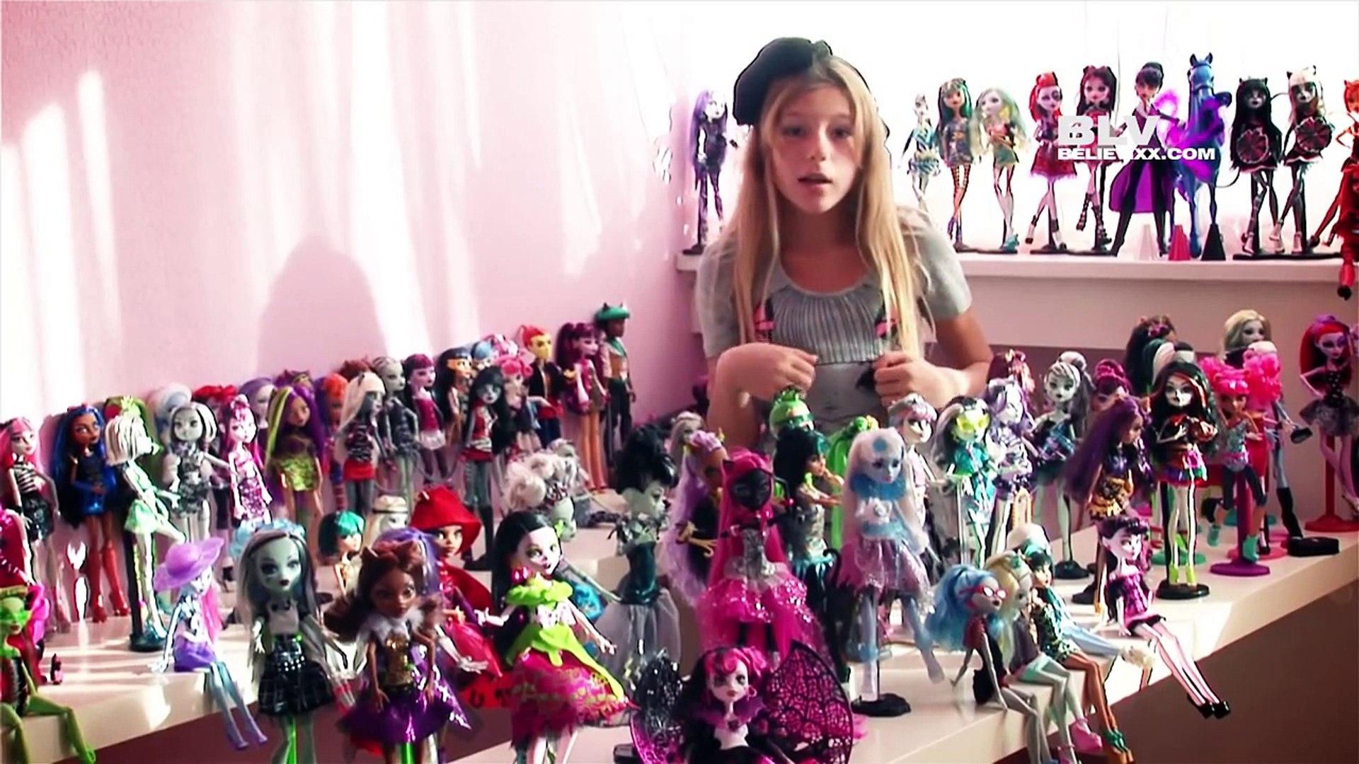 Моя коллекция кукол Монстер Хай Монстр (Школа Монстров) более 150 монстряшек Monster High new окт