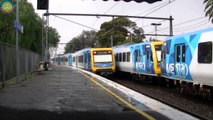 Melbournes Metro/Vline Trains and Trams (Full video #62)