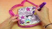 Bolso de SOY LUNA para colorear | Juguetes de Soy Luna en español | Como decorar y pintar un Bolso