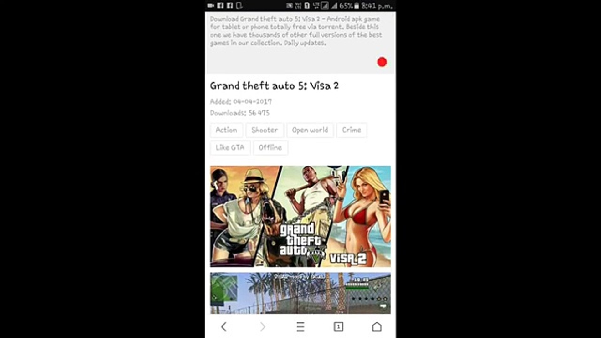 gta 5 for android tablet
