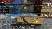 Обзор сервера MinePlay на Minecraft PE 0.14.0 | Сервер с редстоуном