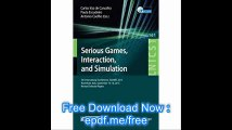 Serious Games, Interaction, and Simulation 5th International Conference, SGAMES 2015, Novedrate, Italy, September 16-18,