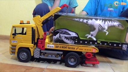 СТРАШНЫЙ ДИНОЗАВР - Битва Динозавров Видео для детей GIANT Dinosaurs Kids Video