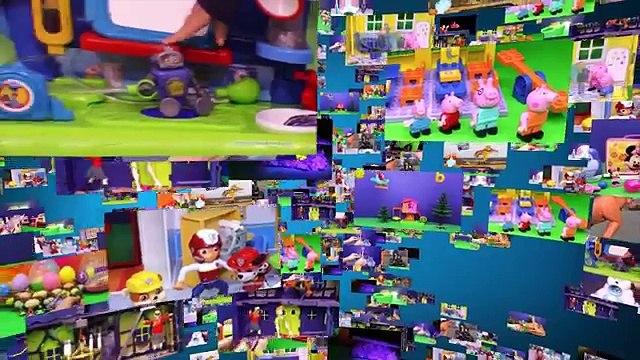 PJ MASKS Disney Doc MCStuffins Helps Assistant Tummy Ache with Cartoon Network Powerpuff Girls