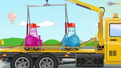 Скорая Помощь и Полицейская Машина Мультфильмы про МАШИНКИ Развивающие видео для детей