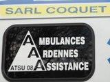 AMBULANCES ARDENNES ASSISTANCE située à VIREUX MOLHAIN dans le département des Ardennes 08