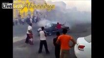 Saudi Arabian INSANE Drift fails Complication!