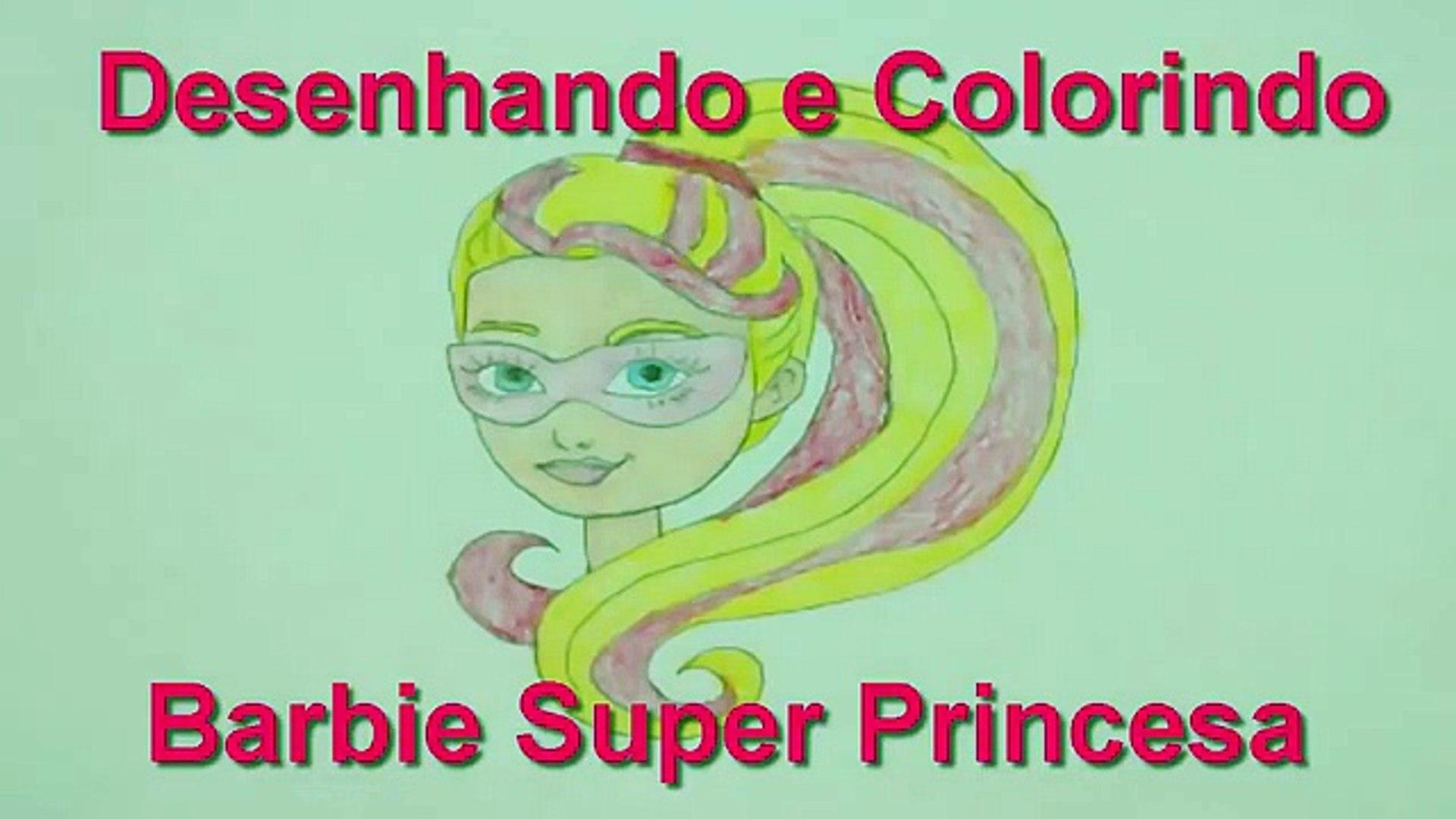 Desenho De Barbie Super Princesa 2016 Portugues Brasil Barbie