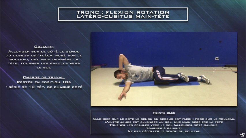 Réhabilitation tronc flexion