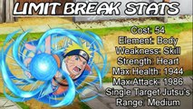 Naruto Ultimate Ninja Blazing: All Max Limit Break Stats! - Tsunade Trials: Should You Limit Break?