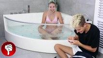 Eiskalte BESTRAFUNG in der Badewanne .. :O | BibisBeautyPalace