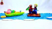 Örümcek Adam ile Frozen Elsa Tango Dansı - Play Doh Stop Motion Animasyon