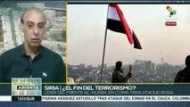 Siria: fuerzas antiterroristas anuncian avance territorial sobre Daesh