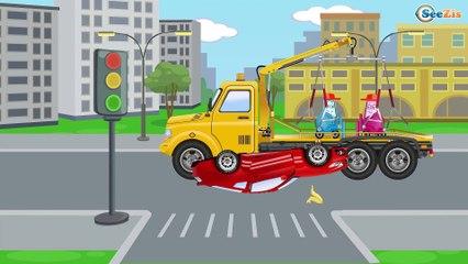La Grande Excavadora y El Camión infantiles - La zona de construcción - Carritos Para Niños