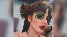 Bella Thorne Goes Topless and Sports Glitter Body Paint for 20th Birthday Party