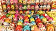 200 Surprise eggs,Unboxing Kinder Surprise Shrek, PopPixie, Маша и Медведь, Angry Birds Фиксики