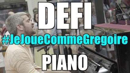 #JeJoueCommeGregoire defi Piano