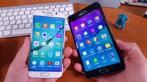 Samsung Galaxy S6 Edge vs Samsung Note Edge Сравнение 4K