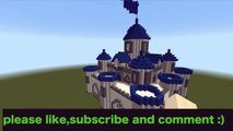 【MINECRAFT】:HOW TO BUILD A CASTLE part 1/2 [minecraft easy castle tutorial] #1