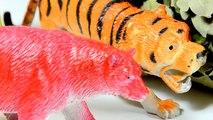 ДИНОЗАВРЫ. Динозавры против Диких Животных | Мультик про динозавров на русском | Игрушки ТВ