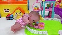 Baby doll & Robocar Poli Amber Ambulance Doctor Hospital toys 로보카폴리 엠버 구급차 병원놀이 아기인형 의사 뽀로로 장난감