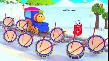 Bob, le train - compter le nombre avec le train de bob - enfants vidéo d'apprentissage - Counting - YouTube