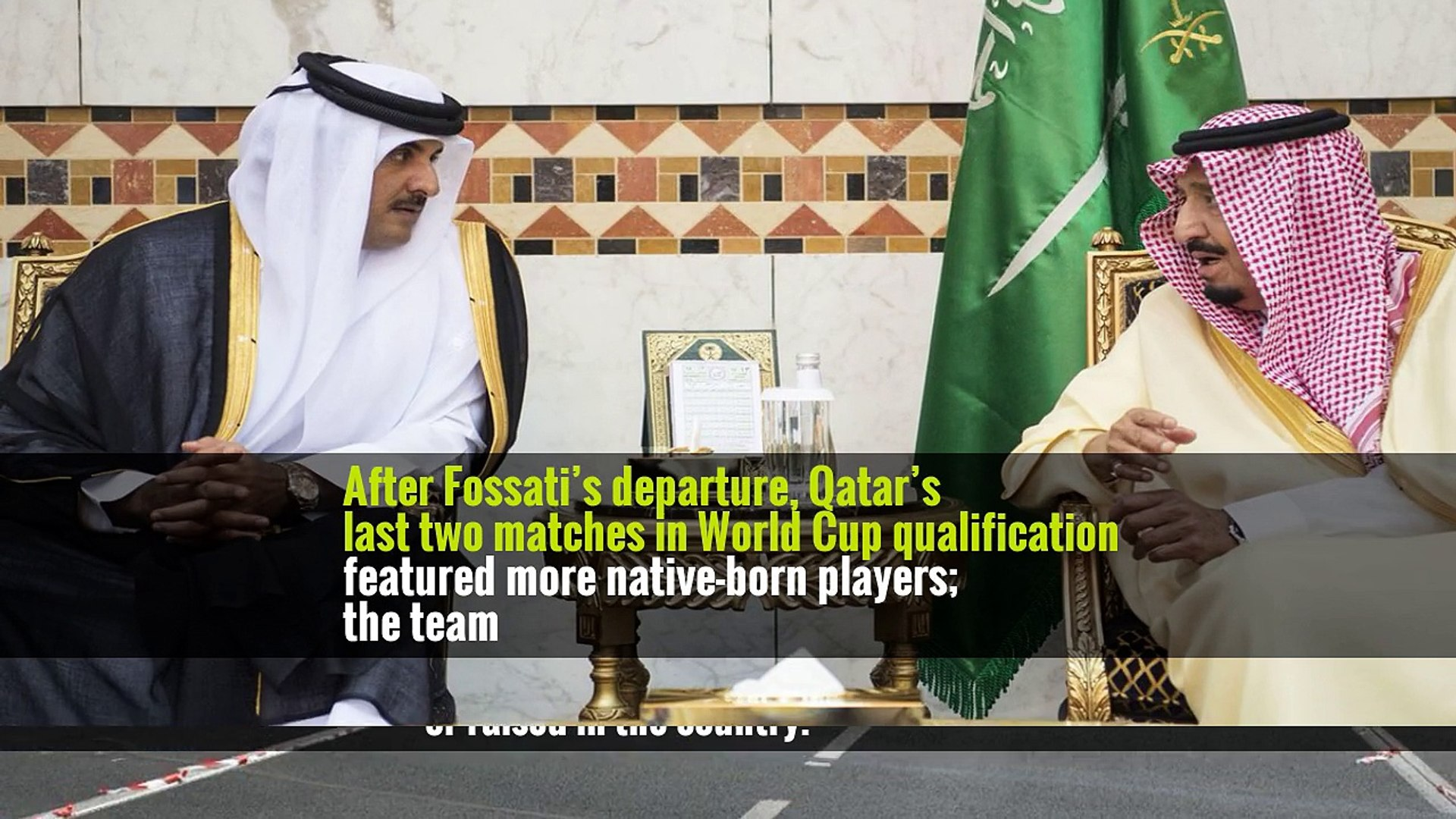 Qatar Has a World Cup Date. It Still Needs a World-Class Team.