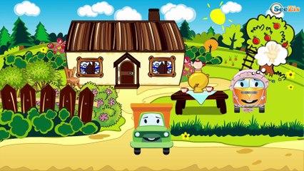 Трактор Павлик - Развивающие Видео для детей - Мультик про машинки