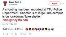 Campus on Lockdown After Police officer Killed at Texas Tech University