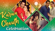 TV Celebs KARWACHAUTH Celebration : Karan Patel, Arjun Bijlani, Drashti Dhami, Aamna Sharif