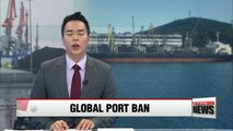 UN imposes global port ban on 4 ships for violating N. Korea sanctions