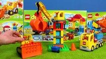 BAGGER LASTWAGEN ZÜGE KRAN & SPIELZEUGAUTOS Kinderfilm | Construction Baustelle für Kinder