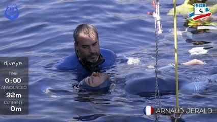Arnaud JERALD - Championnats d'Europe d'Apnée  2017